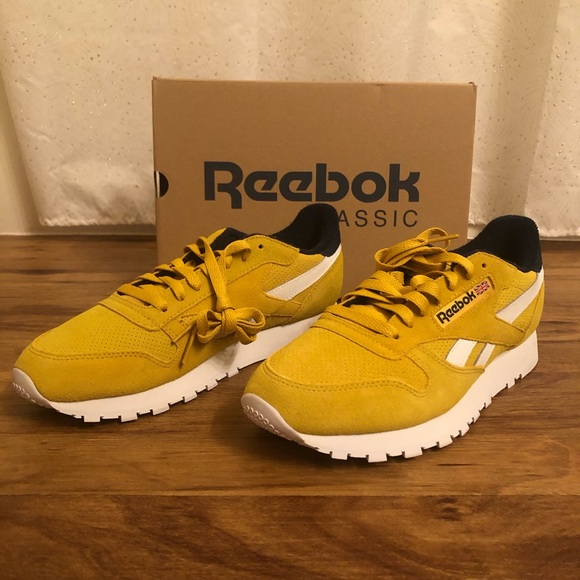 buy \u003e mustard yellow reebok, Up to 62% OFF
